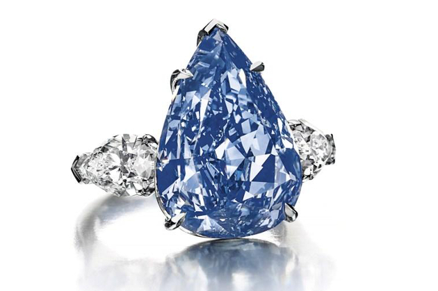 World's Largest Vivid Blue Diamond to Sell for $25 Million