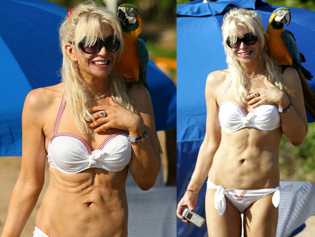 Courtney Love Bikini Body