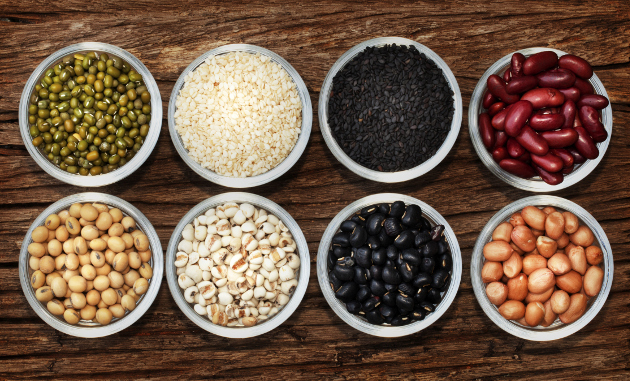 High Protein Beans And Grains