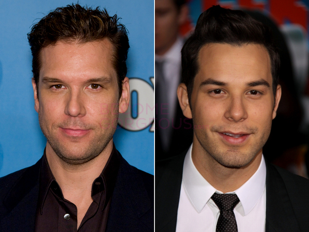 Dane Cook And Skylar Astin Look Alike
