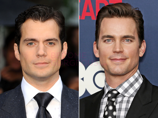 Henry Cavill And Matt Bomer Look Alike