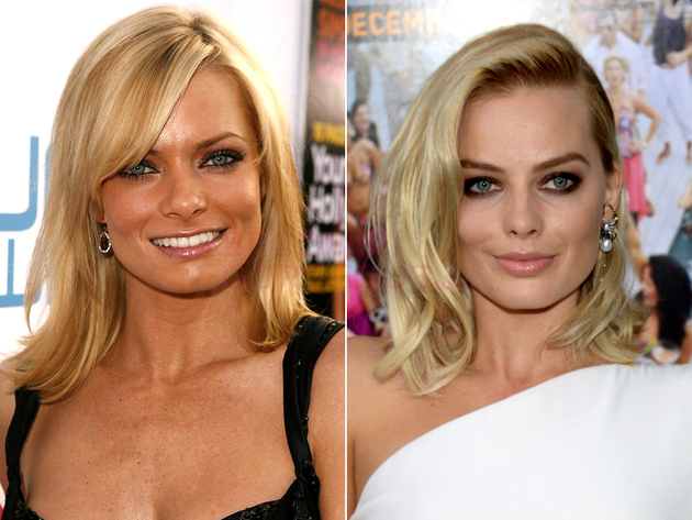Jaime Pressly And Margot Robbie Look Alike