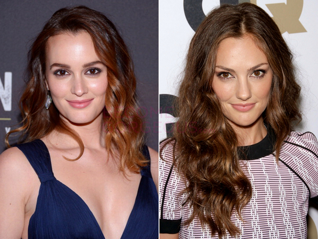 Leighton Meester And Minka Kelly Look Alike