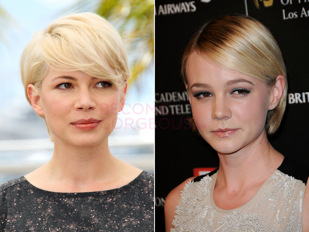 Michelle Williams And Carey Mulligan Look Alike