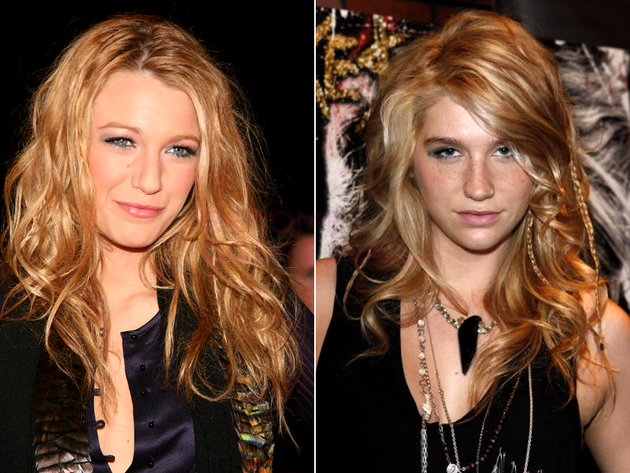 Blake Lively And Kesha Look Alike