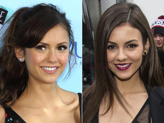 Nina Dobrev And Victoria Justice Look Alike