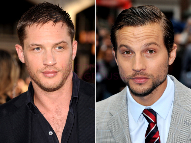 Tom Hardy And Logan Marshall Green Look Alike