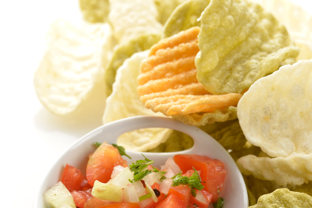 Vegetable Chips Are Often High In Fat