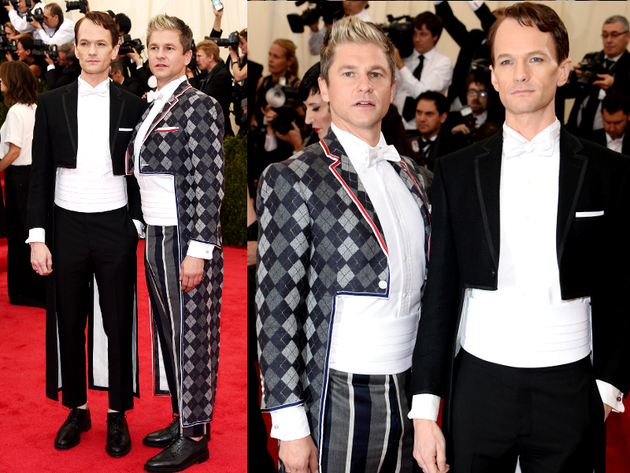 Neil Patrick Harris And David Burtka 2014 Met Ball