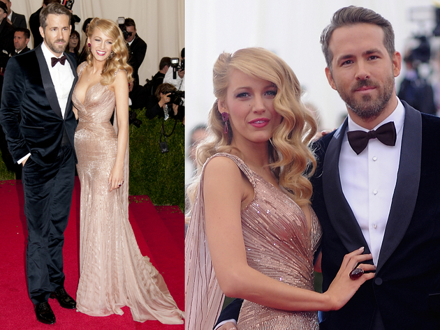 Blake Lively And Ryan Reynolds 2014 Met Ball