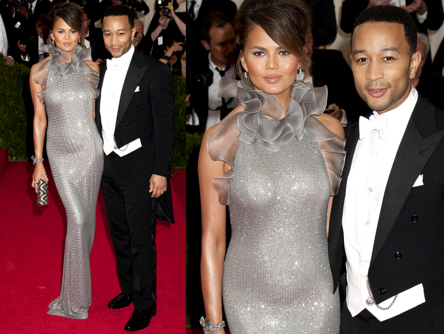 John Legend And Chrissy Teigen 2014 Met Ball