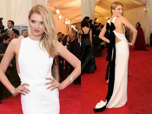 Lily Donaldson Dress Met Ball 2014