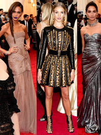 Best Dressed Models at the Met Gala 2014