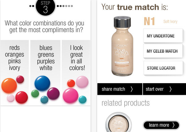 Matchmaker By True Match Makeup App