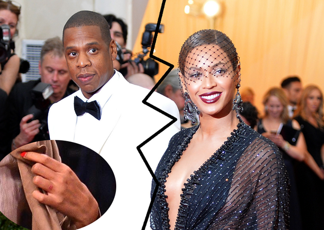 Beyonce Sparks Marriage Problems Rumors After Removing Wedding Ring Tattoo