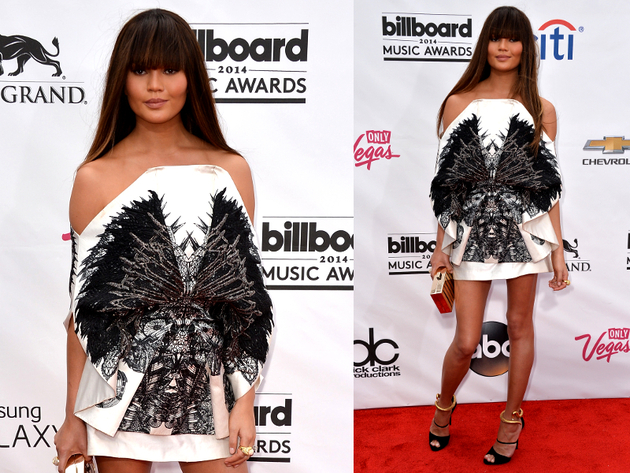Chrissy Teigen Billboard Awards 2014 Dress