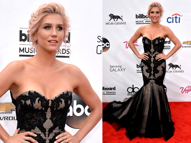 Kesha Billboard Awards 2014 Gown
