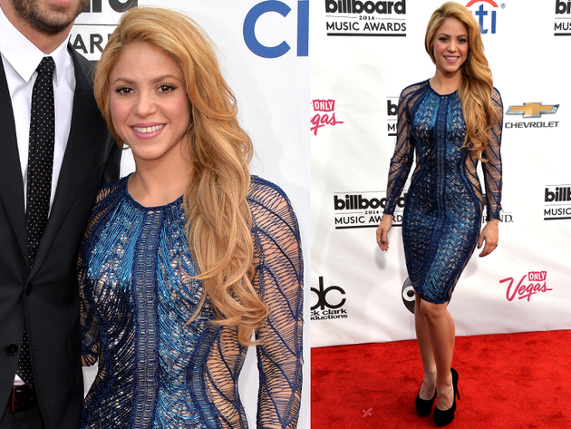 Shakira Billboard Awards 2014 Dress