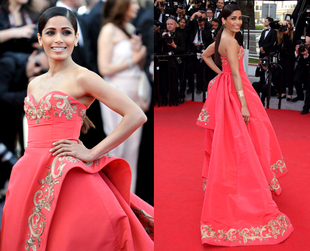 The 67th Annual Cannes Film Festival allows celebrities to show off daring looks on the red carpet. Some work, others are simply stunning. See the best looks.