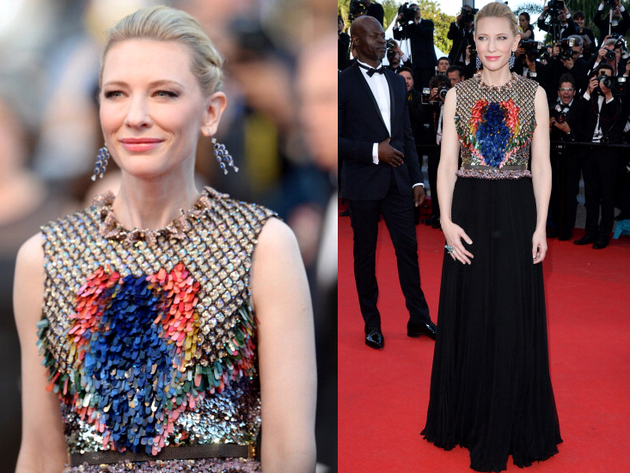 Cate Blanchett Givenchy Dress Cannes 2014 Red Carpet