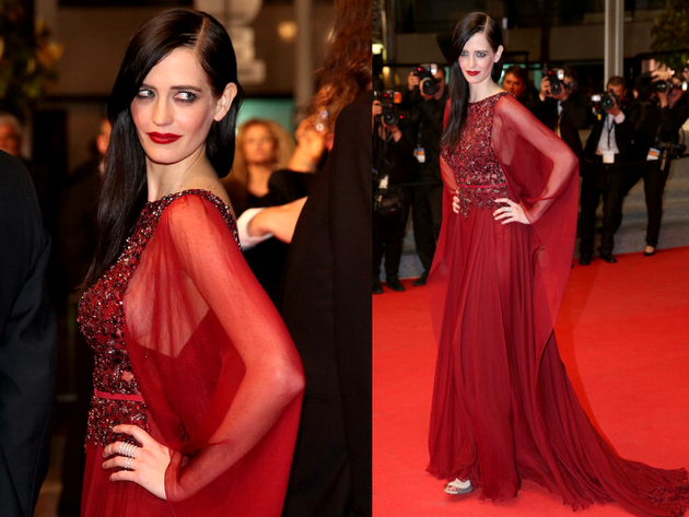 Eva Green Elie Saab Dress Cannes 2014 Red Carpet
