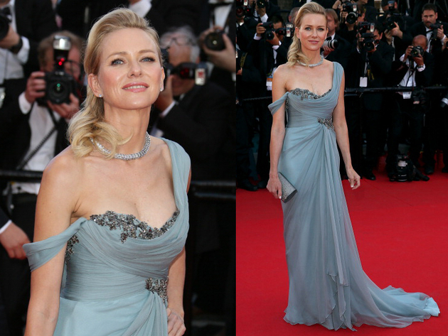 Naomi Watts Marchesa Dress Cannes 2014 Red Carpet