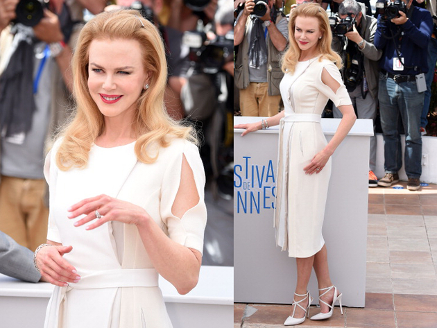 Nicole Kidman Altuzzara Dress Cannes 2014 Red Carpet