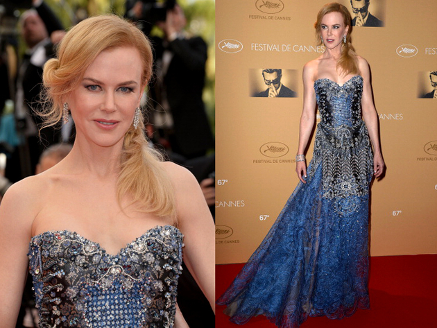 Nicole Kidman Armani Prive Dress Cannes 2014 Red Carpet