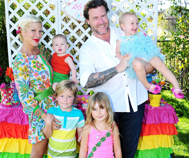 Tori Spelling 4 Children