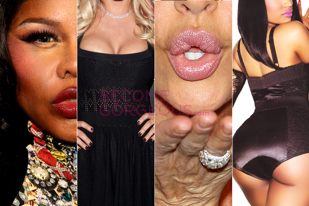 Celebrities With Fake Body Parts