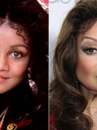 Pictures Celebrities With Fake Body Parts La Toya