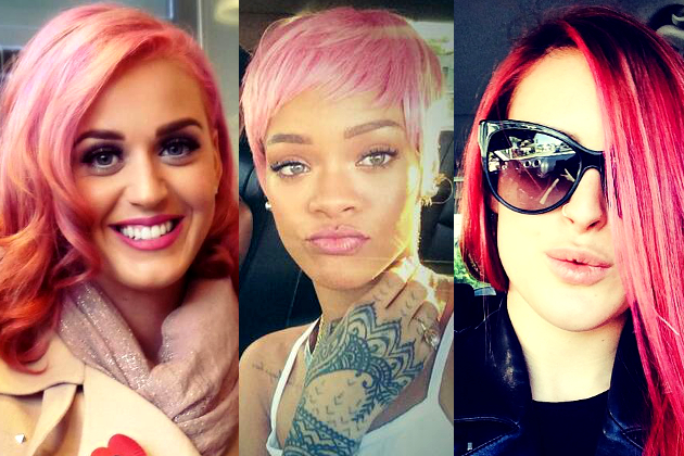 Celebrities with the Best Pink Hair Color