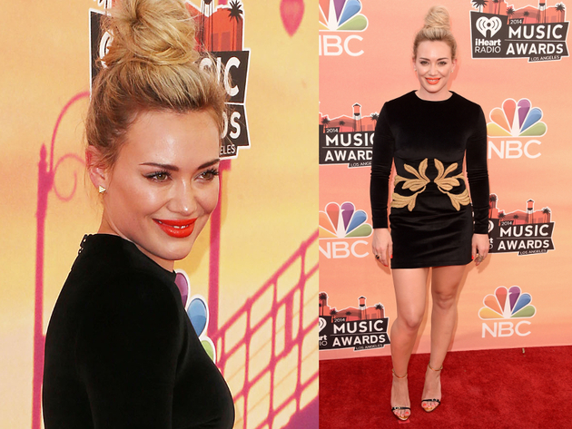 Hilary Duff I Heart Radio Music Awards 2014