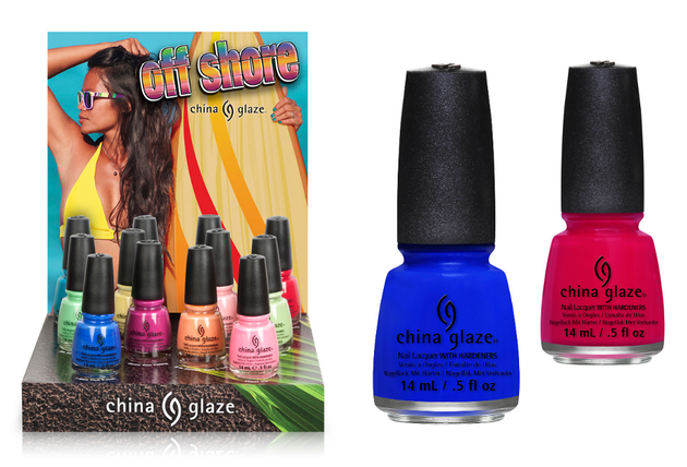 China Glaze Off Shore Summer 2014 Nail Polish Collection