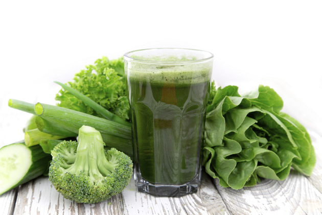 Greens For Healthy Hair