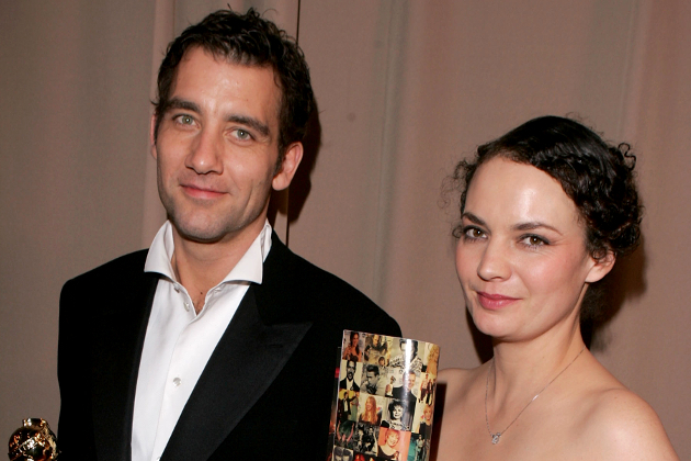 Clive Owen And Sarah Jane Fenton