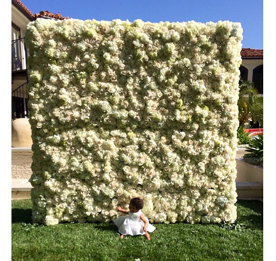 Kim Kardashian Mother's Day Flowers