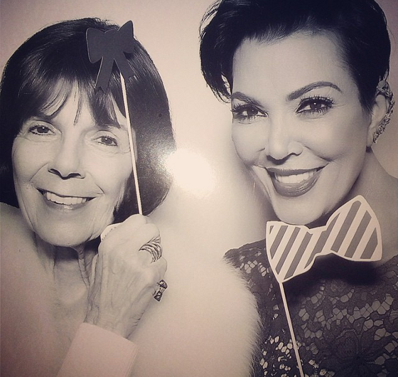 Kris Jenner Mother's Day Pic