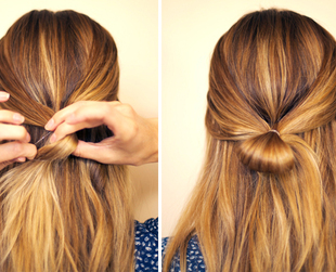 Love experimenting with hair bows? Learn how to create an elegant, feminine bow half updo suitable for a variety of occasions.