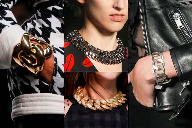 Chain Jewelry Summer 2014