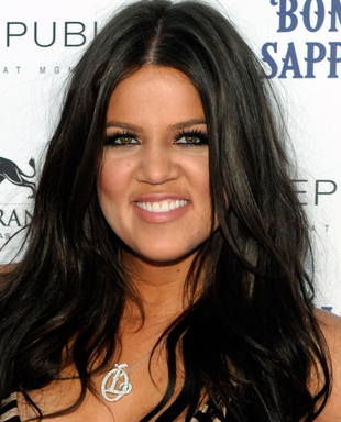 Khloe Kardashian Dark Brown Hair