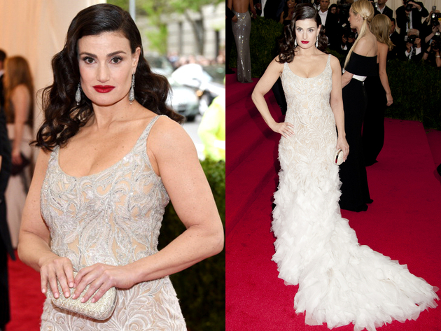 Idina Menzel Met Gala 2014 Dress