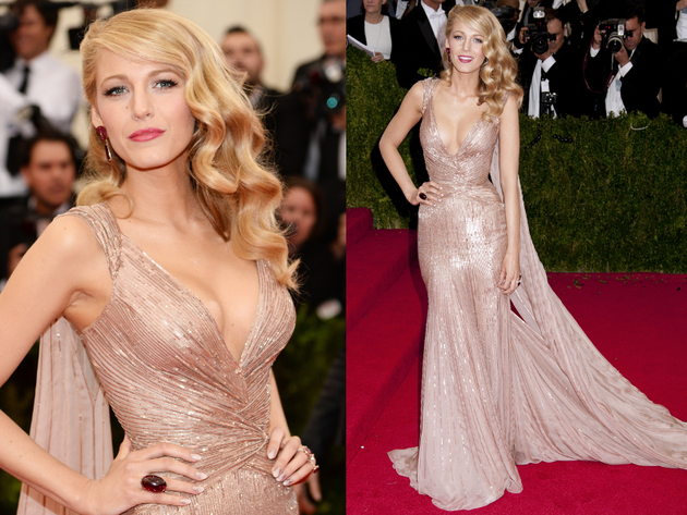 Blake Lively Met Gala 2014 Dress