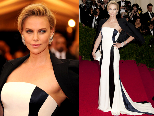 Charlize Theron Met Gala 2014 Dress