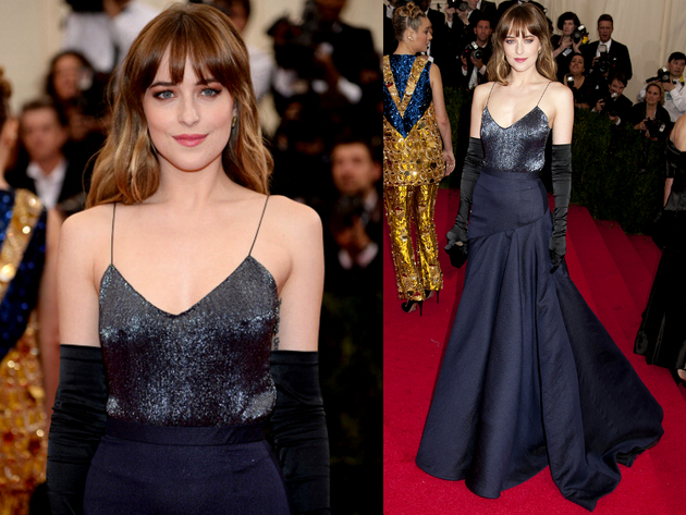 Dakota Johnson Met Gala 2014 Dress