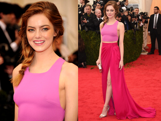 Emma Stone Met Gala 2014 Outfit