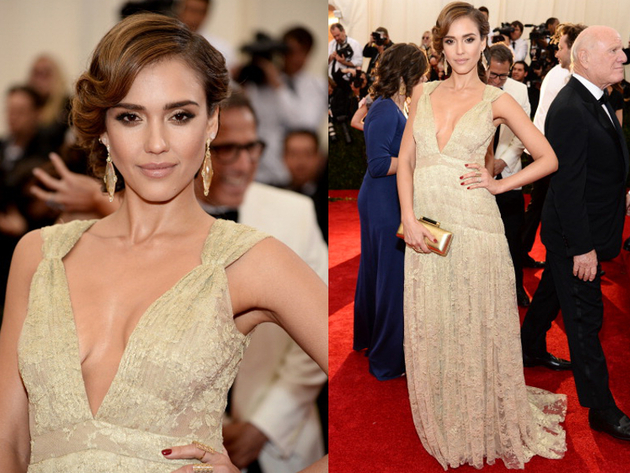 Jessica Alba Met Gala 2014 Dress