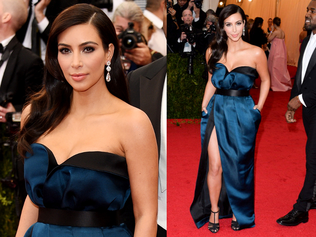 Kim Kardashian Met Gala 2014 Dress