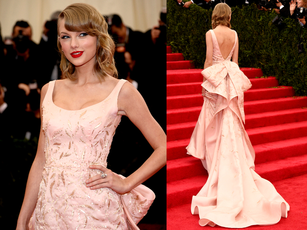 Taylor Swift Met Gala 2014 Dress