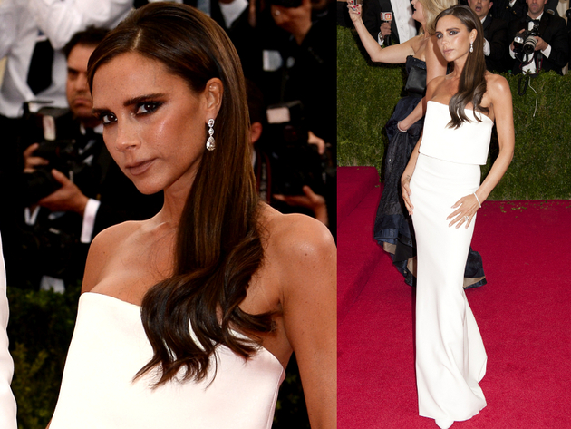 Victoria Beckham Met Gala 2014 Dress